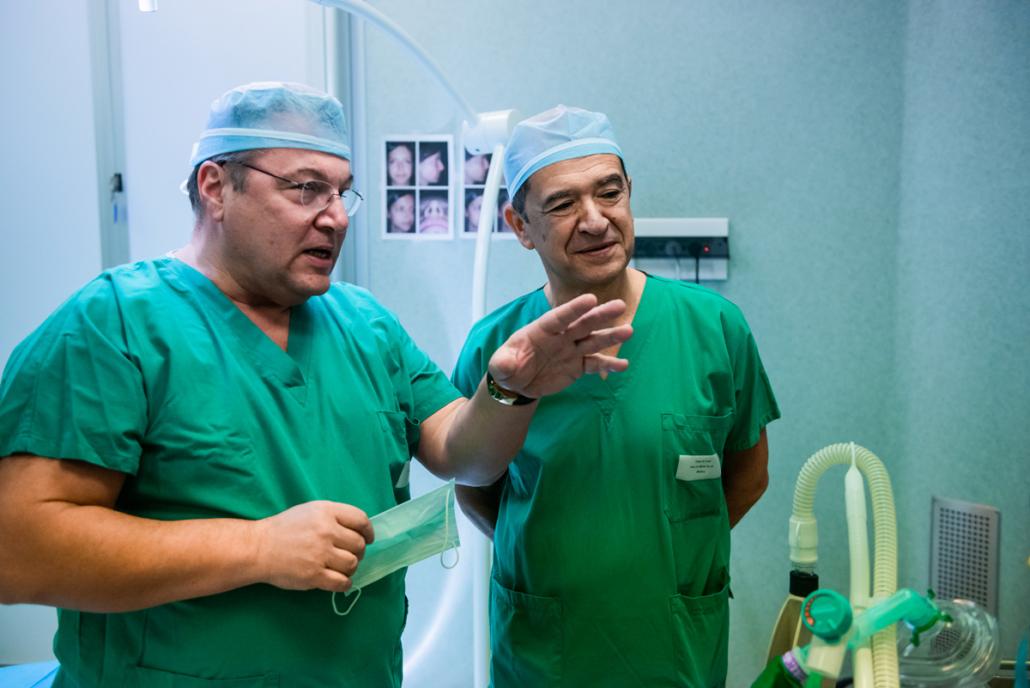 Dr. Armando Boccieri e anestesista